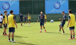 allenamento report napoli